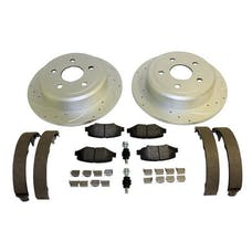 RT Offroad RT31028 Rear Performance Brake Kit for Jeep 07-18 JK Drilled & Slotted Rotors & Hardware