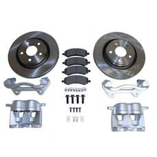 RT Offroad RT31046 Jeep JK Wrangler Front Big Brake Kit w/ Vented Rotors & Dual Piston Calipers