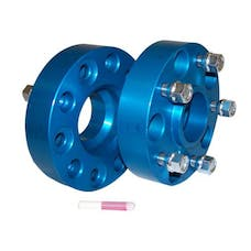 "RT Offroad RT32004 1.5"" Wide Blue Anodized Wheel Spacer Set for 99-19 Jeep JK, WJ, WK, XK"