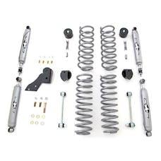 Rubicon Express - RE7121T - JK Lift Kit 2.5 Inch W/Twin Tube Shocks 07-18 Jeep Wrangler JK 2 Dr