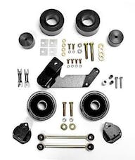 Rubicon Express - RE7133E - JK Spacer Lift Systems 2.5 Inch W/Shock Extensions 07-18 Jeep Wrangler JKU 4 Dr