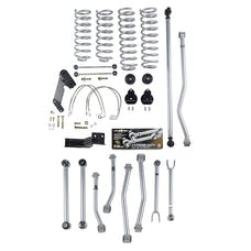 Rubicon Express - RE7144 - 4.5 Inch Short Arm Lift Kit Super-Flex 07-18 Jeep Wrangler JK Unlmited