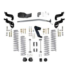 Rubicon Express - RE7145 - JK Lift Kit 3.5 Inch Sport No Shocks 07-18 Jeep Wrangler JKU 4 Dr