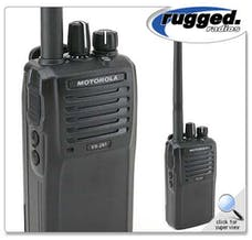 Rugged Radios VX261-U - MOTOROLA UHF FREQUENCY 5 WATT HANDHELD RADIO