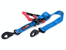 SpeedStrap 26002 - 2 Inch x 8 Foot Rachet Tie Down w/ Twisted Snap Hooks Blue