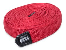 SpeedStrap 34125 - 1 Inch SuperStrap Weavable Recovery Strap 25 Foot Red Nylon