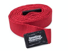SpeedStrap 34225 - 2 Inch Big Daddy Weaveable Recovery Strap 25 Foot Red Nylon