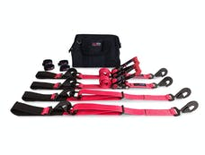 SpeedStrap 71643 - Essential Off-Road Kit 2 Inch Tie-Down Kit Red