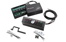 sPOD 610-0915 - JK Switch Panel 6 Switch W/Air Gauge 09-17 Wrangler JK Multi Color