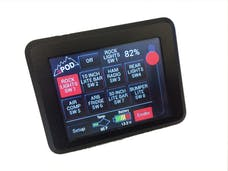 sPOD 8-700-TS-C10 - Add On Touch Screen Switch Panel For 8 Circuit SE System Universal