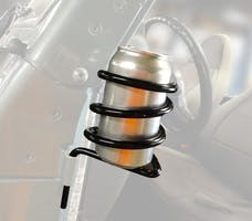 Steinjager Door Mounted Can Holder Wrangler TJ 1997-2006