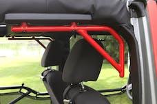 Steinjager Grab Handle Kit Wrangler JK 2007-2018 Rigid Design Rear for 4 Door JKU Red Baron