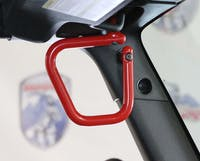 Steinjager Grab Handle Kit Wrangler JK 2007-2018 Rigid Design Front Red Baron