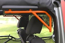 Steinjager Grab Handle Kit Wrangler JK 2007-2018 Rigid Design Rear for 4 Door JKU Fluorescent Orange