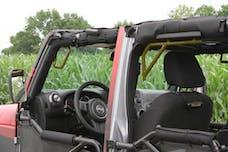 Steinjager Grab Handle Kit Wrangler JK 2007-2018 Rigid Design Front and Rear for 4 Door JKU Locas Green