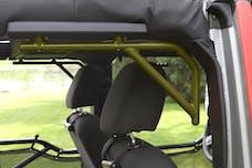 Steinjager Grab Handle Kit Wrangler JK 2007-2018 Rigid Design Rear for 4 Door JKU Locas Green