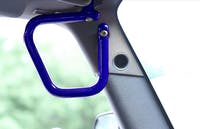 Steinjager Grab Handle Kit Wrangler JK 2007-2018 Rigid Design Front Southwest Blue