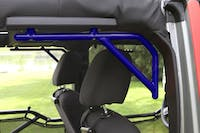 Steinjager Grab Handle Kit Wrangler JK 2007-2018 Rigid Design Rear for 4 Door JKU Southwest Blue