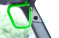 Steinjager Grab Handle Kit Wrangler JK 2007-2018 Rigid Design Front Neon Green