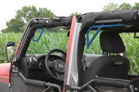 Steinjager Grab Handle Kit Wrangler JK 2007-2018 Rigid Design Front and Rear for 4 Door JKU Playboy Blue