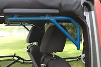 Steinjager Grab Handle Kit Wrangler JK 2007-2018 Rigid Design Rear for 4 Door JKU Playboy Blue