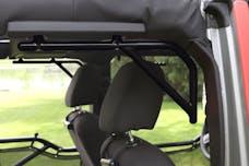Steinjager Grab Handle Kit Wrangler JK 2007-2018 Rigid Design Rear for 4 Door JKU Black