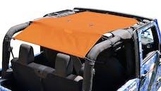Steinjager Tops, Fabric Teddy Wrangler JK 2010-2018 2 Door Orange