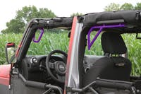 Steinjager Grab Handle Kit Wrangler JK 2007-2018 Rigid Design Front and Rear for 4 Door JKU Sinbad Purple