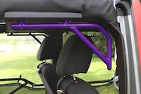 Steinjager Grab Handle Kit Wrangler JK 2007-2018 Rigid Design Rear for 4 Door JKU Sinbad Purple