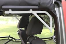 Steinjager Grab Handle Kit Wrangler JK 2007-2018 Rigid Design Rear for 4 Door JKU Cloud White