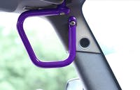 Steinjager Grab Handle Kit Wrangler JK 2007-2018 Rigid Design Front Sinbad Purple