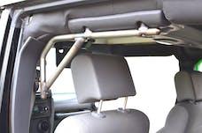 Steinjager Grab Handle Kit Wrangler JK 2007-2018 Rigid Design Rear for 4 Door JKU Bare