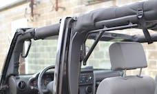 Steinjager Grab Handle Kit Wrangler JK 2007-2018 Rigid Design Front and Rear for 4 Door JKU Texturized Black