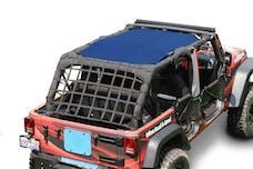 Steinjager Tops, Fabric Teddy Wrangler JK 2007-2009 4 Door Blue