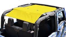 Steinjager Tops, Fabric Teddy Wrangler JK 2010-2018 2 Door Yellow