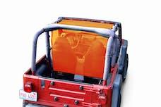 Steinjager Tops, Fabric Teddy Wrangler TJ 1997-2006 Truckster Top Orange