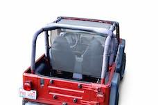 Steinjager Tops, Fabric Teddy Wrangler TJ 1997-2006 Truckster Top Gray