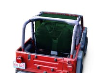 Steinjager Tops, Fabric Teddy Wrangler TJ 1997-2006 Truckster Top Dark Green