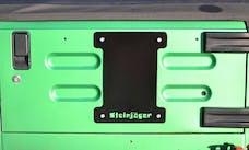 Steinjager Spare Tire Carrier Delete Plate Wrangler TJ 1997-2006 Black