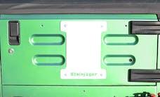 Steinjager Spare Tire Carrier Delete Plate Wrangler TJ 1997-2006 Cloud White