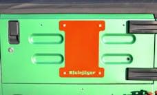 Steinjager Spare Tire Carrier Delete Plate Wrangler TJ 1997-2006 Fluorescent Orange