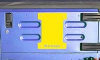 Steinjager Spare Tire Carrier Delete Plate Wrangler TJ 1997-2006 Lemon Peel