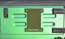 Steinjager Spare Tire Carrier Delete Plate Wrangler TJ 1997-2006 Locas Green