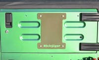 Steinjager Spare Tire Carrier Delete Plate Wrangler TJ 1997-2006 Military Beige