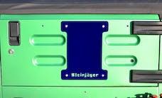Steinjager Spare Tire Carrier Delete Plate Wrangler TJ 1997-2006 Southwest Blue