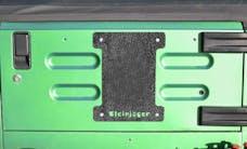 Steinjager Spare Tire Carrier Delete Plate Wrangler TJ 1997-2006 Texturized Black