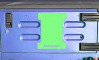 Steinjager Spare Tire Carrier Delete Plate Wrangler TJ 1997-2006 Neon Green