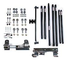 Steinjager Long Arm Travel Kit Wrangler TJ 1997-2006 Chromoly Tubing Manual Transmission Black