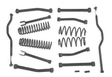Steinjager Lift Kit Wrangler JK 2007-2018 4 Inch Texturized Black