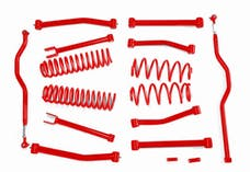 Steinjager Lift Kit Wrangler JK 2007-2018 4 Inch Red Baron